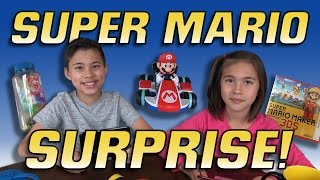Repeat youtube video SUPER MARIO SURPRISE BOX UNBOXING!!!