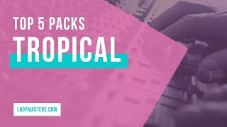 Top 5 | Tropical Reggae Dub Sample Packs by Singomakers 2019 | Sounds Samples Loops