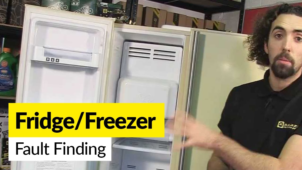 how to diagnose a fault with a frost free fridge freezer [ 1280 x 720 Pixel ]