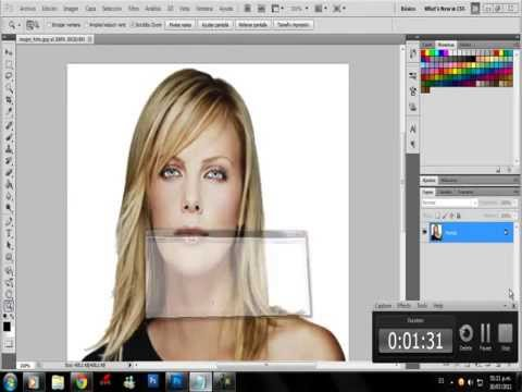Como recortar una foto en photoshop cs5 30