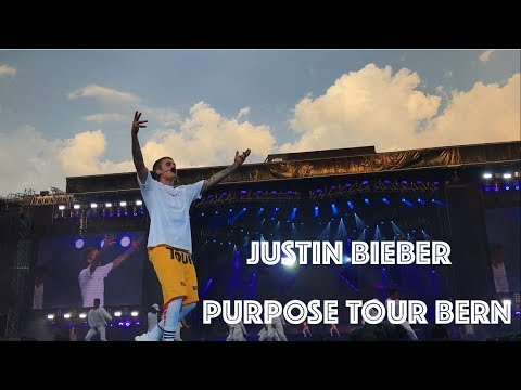 JUSTIN BIEBER PURPOSE TOUR BERN