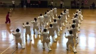 2015年第六屆總統盃全國太極拳錦標賽(一)台中市九九太極拳道協會-九九太極拳劍綜合-200人表演