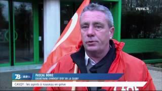 CASQY : les agents à nouveau en grève