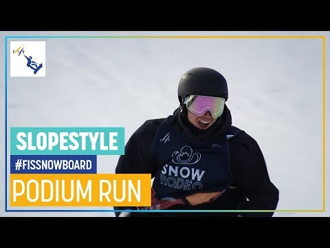 Tiarn Collins | Men's Slopestyle | Calgary | 1st place | FIS Snowboard