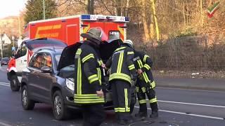 NRWspot.de | Hagen – Motorradunfall – Schwer verletzter Kradfahrer nach Kollision mit PKW