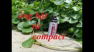 Hướng dẫn chế bật lửa điện từ bóng compact hỏng