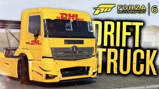 INSANE DRIFT TRUCK!!! | MERCEDES-BENZ RACING TRUCK | Forza Motorsport 6 w/ The Nobeds
