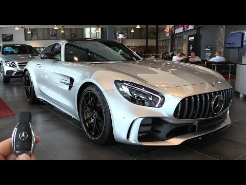 INSIDE the NEW Mercedes AMG GT R 2017 | New In Depth Review Interior Exterior SOUND