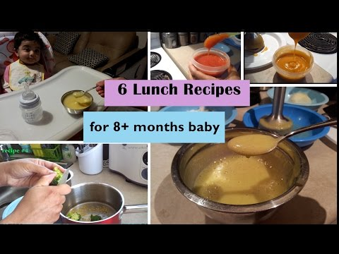 6-lunch-recipes-for-8+-months-baby-(stage-3---homemade-baby-food-recipes)-8+-months-babyfoodrecipes