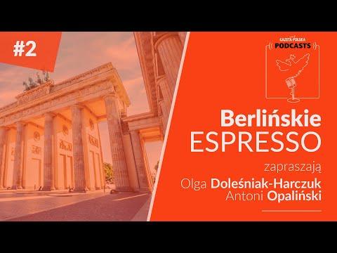 #BerlińskieEspresso ▪️ PREMIERA: 11.08. 2020 Zapraszają Olga Doleśniak-Harczuk i Antoni Opaliński.