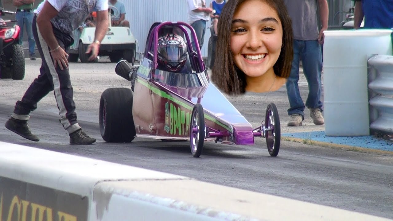 New Track Record In Junior Dragster Youtube