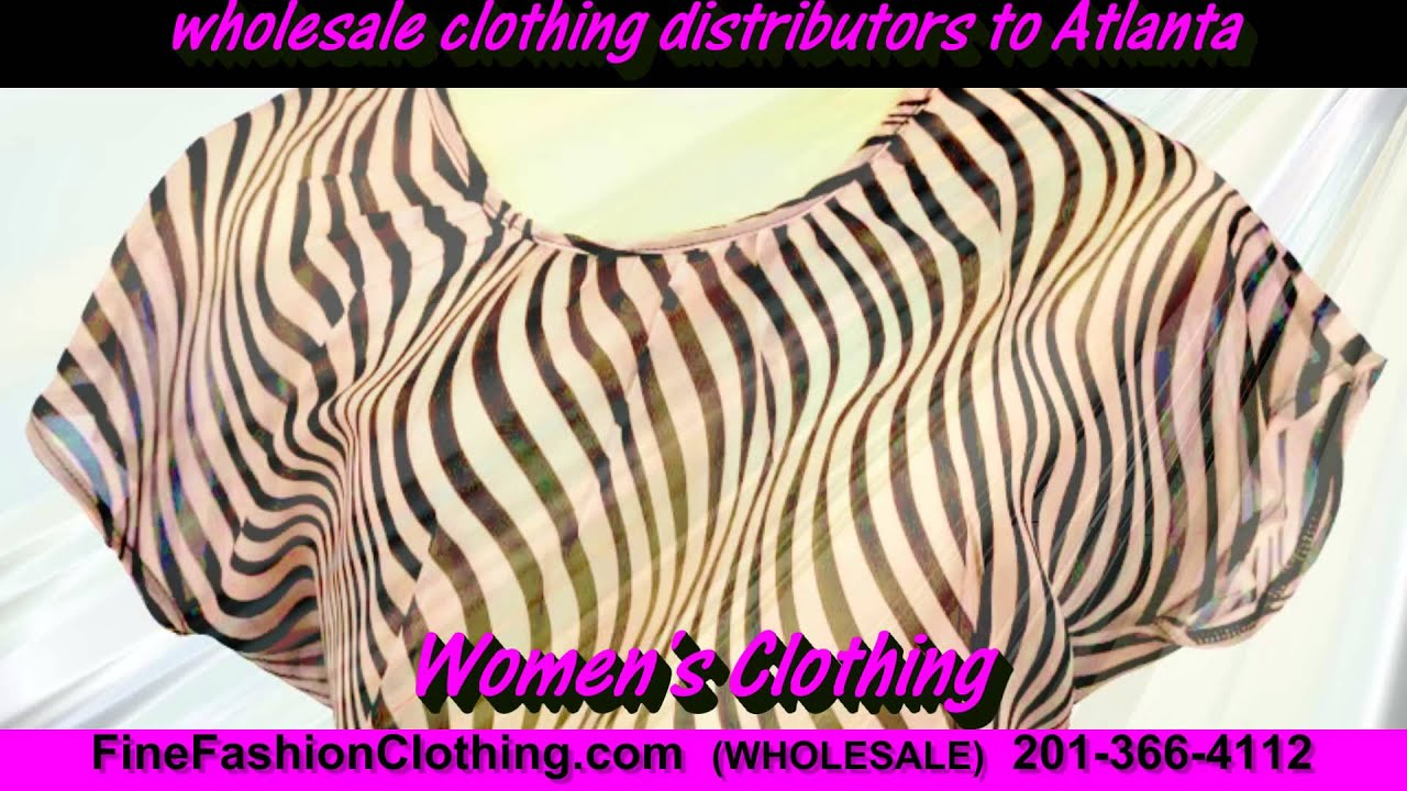 Atlanta Clothing Wholesalers and Cheap Wholesale Clothing ...