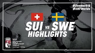 Game Highlights: Switzerland vs Sweden May 13 2018 | #IIHFWorlds 2018