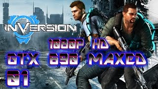 INVERSION PC CAMPAIGN GAMEPLAY GTX 690 MAXED 1080P HD (PS3,XBOX 360,PC)