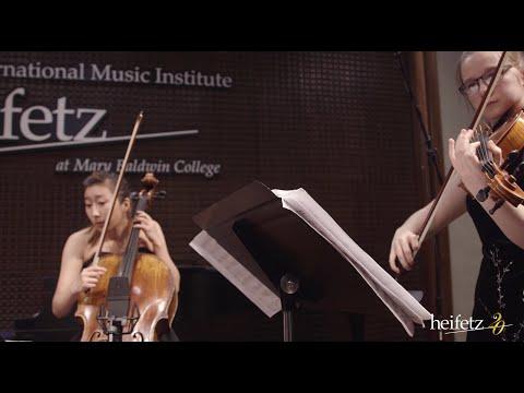Heifetz 2016: Von Quartet | Ginastera: String Quartet No. 2 (complete)