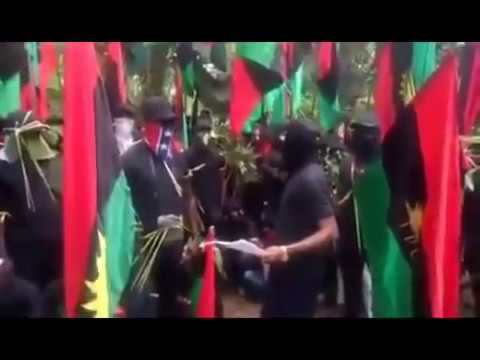 """He Won't Go Back Alive"": IPOB Threatens To Attack Buhari In South-East (Must Watch Video)"