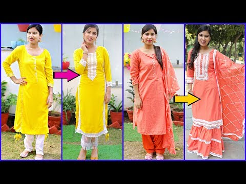 Convert Old Suits Into Designer Outfits - Fashion DIY For Wedding Guest/Teenagers |#Anaysa #DIYQueen