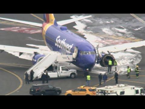 1 dead after Southwest Airlines engine explodes
