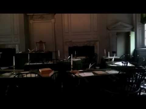 Constitution Hall in Philadelphia.