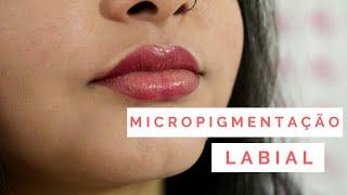 Micropigmentação labial!