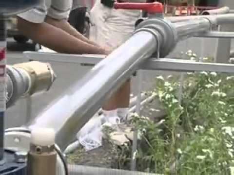 【綠巨人】免電力免燃料自動送水機(簡易安裝過程)