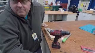 Aircraft sheet metal rem๐ving rivets - Drilling out solid shank rivets