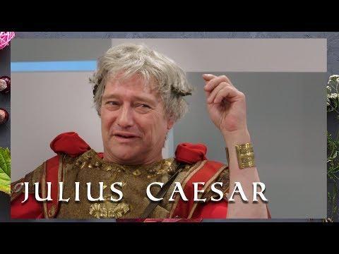Julius Caesar Te Gast! | Welkom Bij De Romeinen