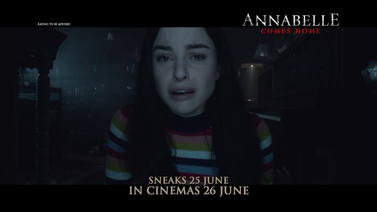 Annabelle Comes Home Future 15s Hd