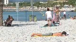 St Laurent du Var : Toutes les plages ouvertes