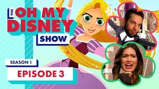 Mandy Moore, Zachary Levi and Temecula Road! I The Oh My Disney Show