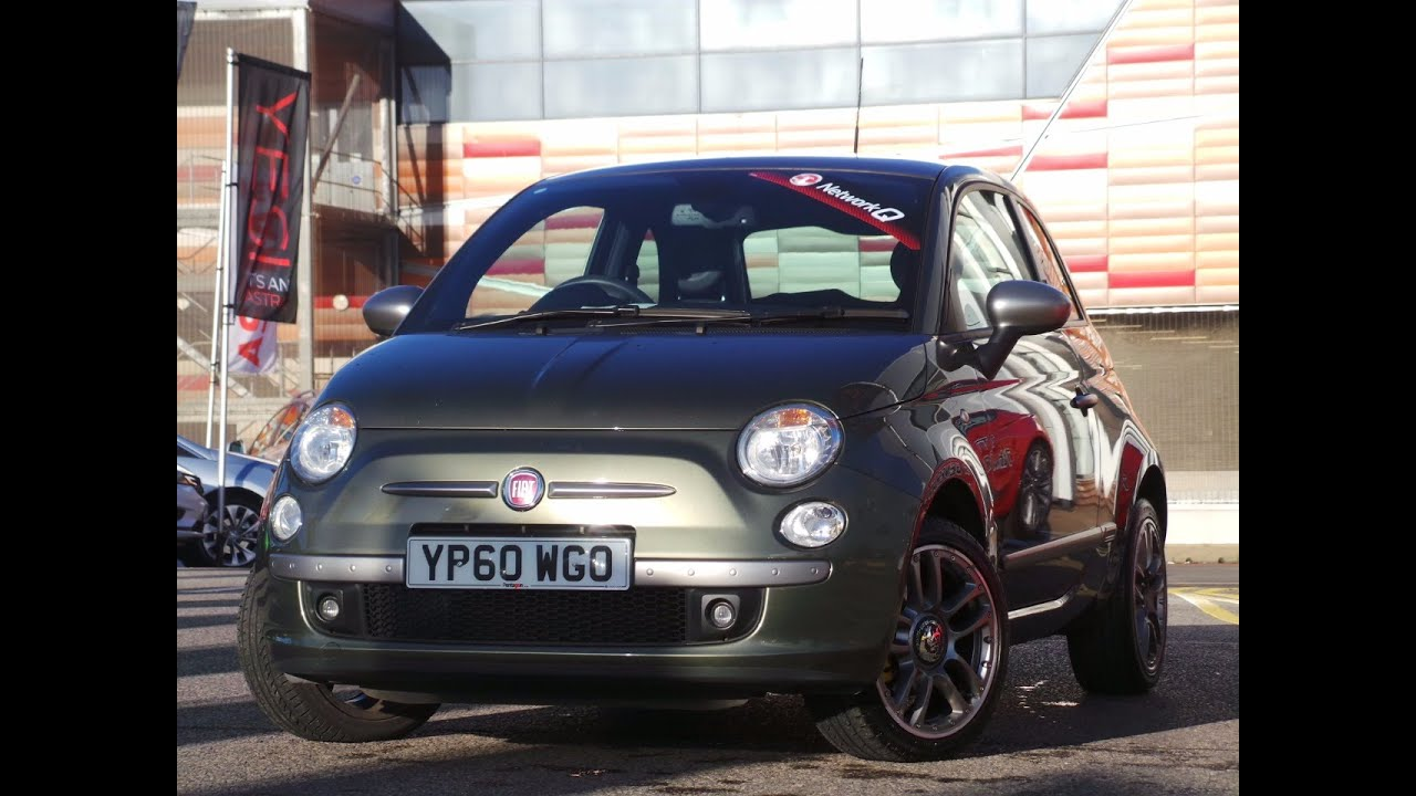 2011 60 Fiat 500 1 4 By Diesel 3dr Inc 16 Inch Alloys Air Con And Bluetooth In Green