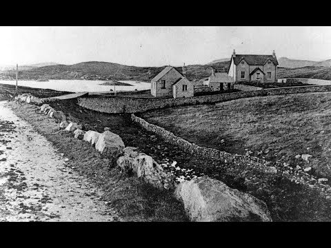 Old Photographs Lochmaddy North Uist Outer Hebrides Scotland