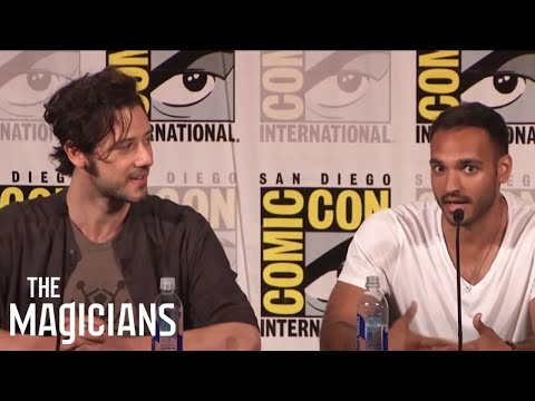 THE MAGICIANS  Turning Poop into Gold  San Diego ComicCon 2016  SYFY