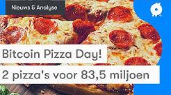 Bitcoin nieuws vandaag: 2 pizza's voor 83,5 MILJOEN euro | Bitcoin Pizza Day! | Koers & Analyse