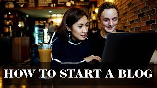 How to Start a Blog | Laureen Uy