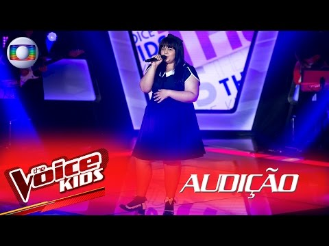 Amanda Lampert canta 'Whataya Want From Me'  na Audição – The Voice Kids Brasil | 2ª Temporada