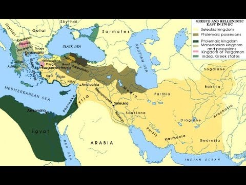 Hellenistic Greece Map.Ancient Greece Hellenistic Period Youtube
