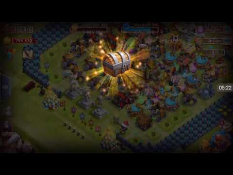 Castle Clash - Playing With 200k Gems On Maltiden's Account!!!!!!!!