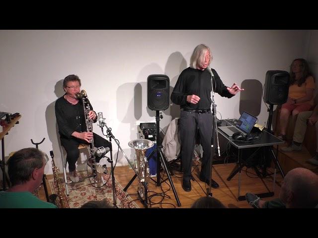 Jaap Blonk und Udo Schindler 84.Salon 4