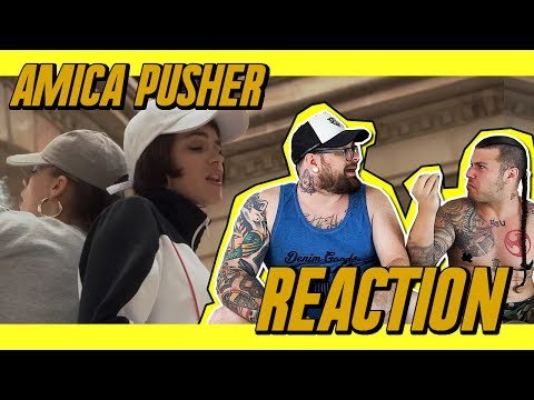 PRIESTESS - AMICA PUSHER | RAP REACTION | ARCADEBOYZ | SPUNTI DI RIFLESSIONE