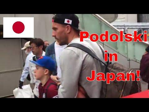 Soccer in Japan and meeting Lukas Podolski in Yokohama!