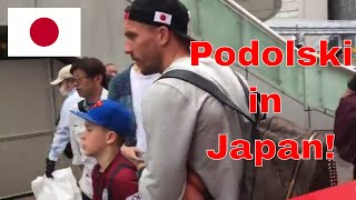 Soccer in Japan and meeting Lukas Podolski in Yokohama!
