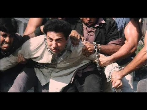 Sunny Deol Best Angry Fights and Dialogues  from Ghatak , Gadar , Border  and Ghayal Movie