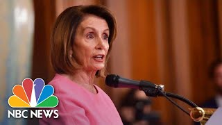 Nancy Pelosi: We Want To 'Work Together' With President Donald Trump   NBC News