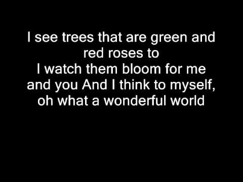 Eva Cassidy - what a wonderful world karaoke