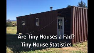 Are Tiny Houses A Fad? Tiny House Statistics