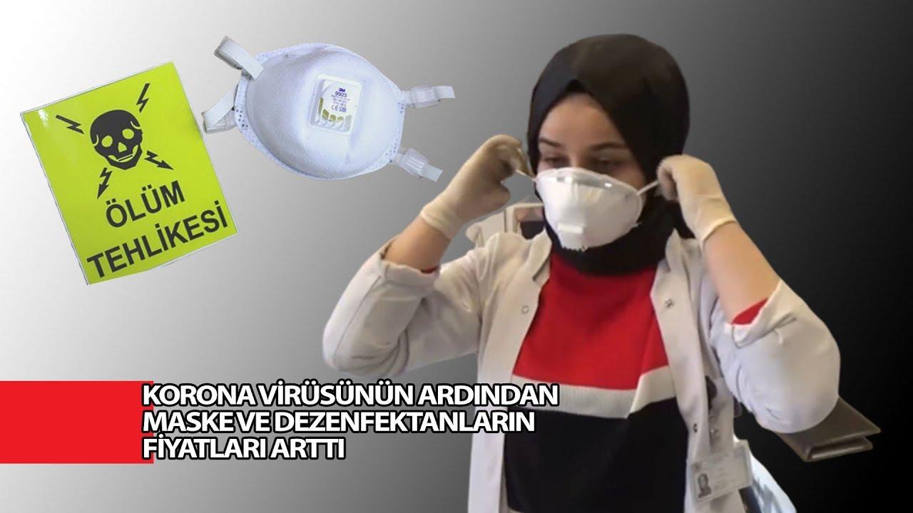 Korona Virüsünün Ardından Maske Ve Dezenfektanların Fiyatları Arttı