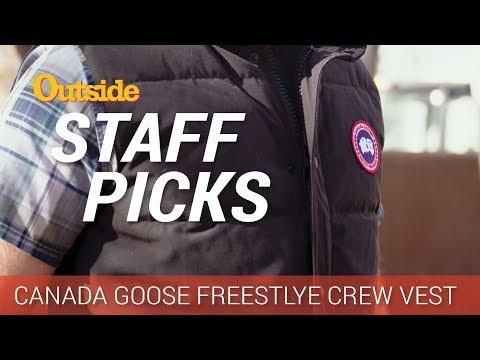 Staff Picks: Canada Goose Crew Vest