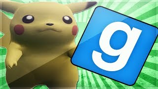 Gmod Sandbox Funny Moments: Garry's Mod Minecraft, Pokemon & More!