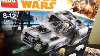 LEGO Star Wars 75210 Спидер Молоха Лего Звездные Войны Хан Соло